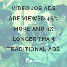 Video job ads